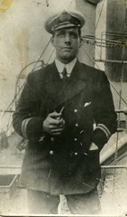 Image titled Alex Gibson, engineer, Merchant Navy, 1916.
