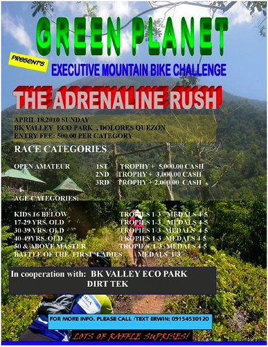 adrenaline rush 2010