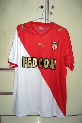 AC Monaco 2008-2009 Home S/S