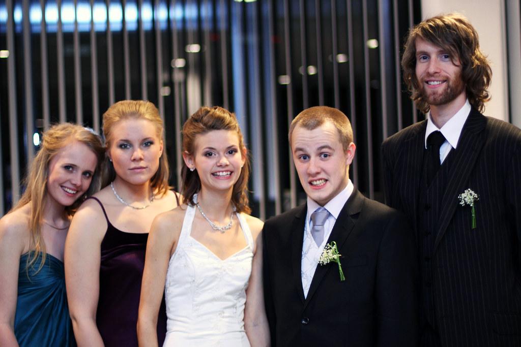 Ina og Eirik med forlovere #2