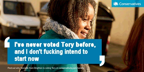 I've never voted Tory before ...