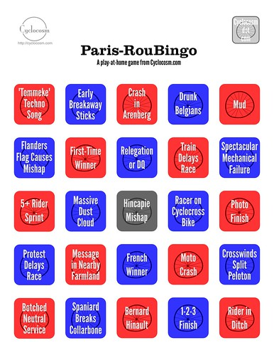 My Printable Roubingo Board