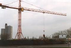 Erection of crane on site (HEA Engineering Subject