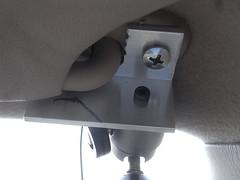 車載カメラ取付
