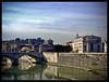 Eterna (Diaaavelo) Tags: city sunset sky italy rome roma river italia tevere lungotevere sanpietro lovelycity cieloromano romaflorence