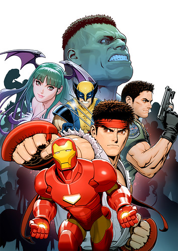 Marvel vs Capcom 3 unveiled!
