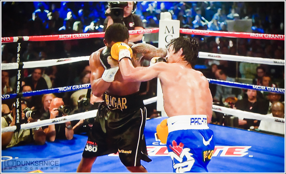 Pacquiao vs Mosley.