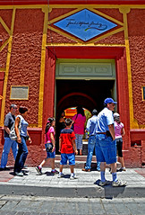 House of Jos Alfredo Jimnez (tacosnachosburritos) Tags: park people church mexico ceramics icecream latino latina mexic