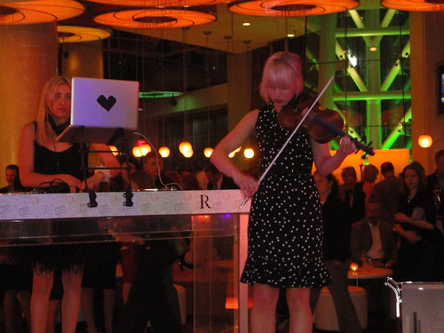 DJ Mia Moretti and Electric Violinist Caitlin Moe