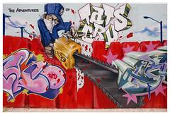 New York (Street art around the world) Tags: usa streetart newyork color wall graffiti photo mural harlem murals murales tats tatscru polillo robertopolillo