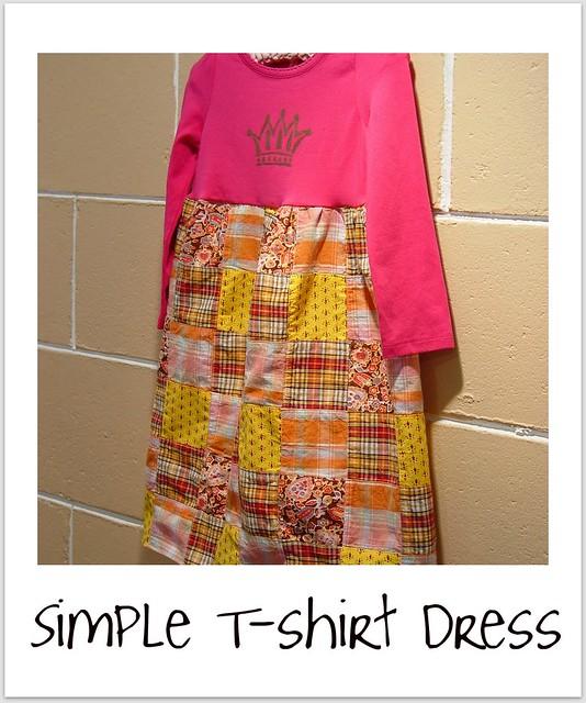 simple T dress