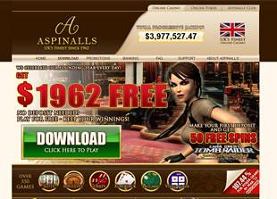 Aspinalls Casino Home