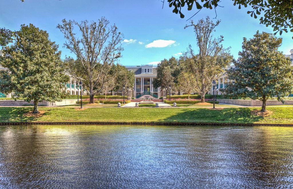Stately Mansions - Disney's Port Orleans Riverside