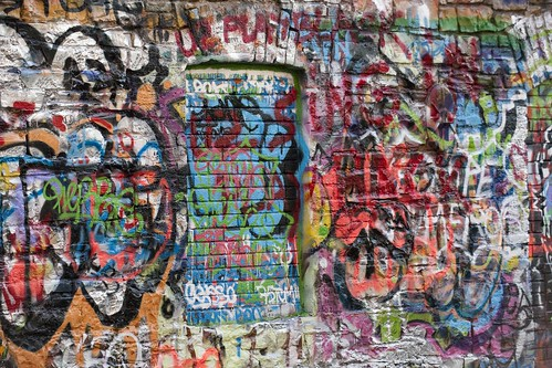 The U2 Graffiti Wall at Windmill Lane Studios