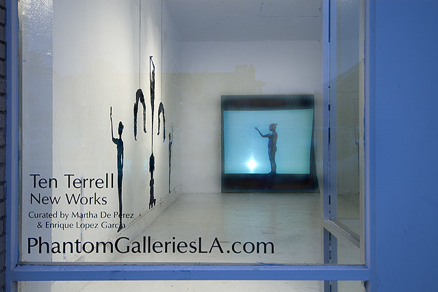 Ten Terrell opening October 24 2009 for The Downtown Long Beach Art Walk Night by Phantom Galleries LA