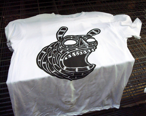 screen printing shirts