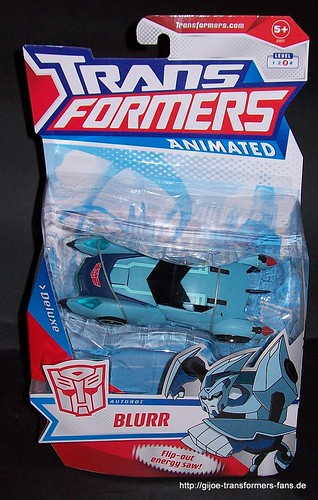 Blurr  Animated Deluxe Transformers 001