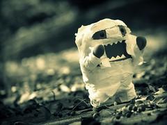 Mummy Domo (willycoolpics.) Tags: white black halloween paper toilet explore sigh domo mummy probably picnik explored tookatmygrandmashouse gonnatrymakingdanbooryotsubaintoawitch danbowouldbeeasierbecauseshehasabiggerhead