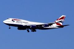 British Airways   ( SFO ) (Prayitno / Thank you for (12 millions +) view) Tags: sanfrancisco california ca airplane san francisco sfo aircraft jet landing british boeing airways approach boeing747 747 jumbo oneworld