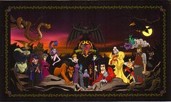 Disney Villains (partyhare) Tags: mountain postcard jafar evil disney villain ursula raven scar cruelladevil hades kaa frollo captainhook queenofhearts yzma stepmother maleficent chernabog disneyvillains wickedqueen painandpanic ladytremaine shanyu ratigan hornedking professorratigan mccleach