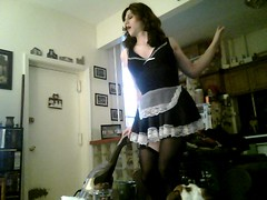 Vacuuming the Floor with Flair (Vera Wylde) Tags: halloween stockings drag costume tv lashes cd vacuum crossdressing queen tgirl transgender tranny transvestite lipstick brunette trans blush dragqueen eyeshadow transgendered maid crossdresser crossdress ts tg eyeliner garterbelt transgirl verawylde