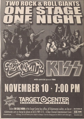 11/10/03 Aerosmith/Kiss/Saliva (Ad)