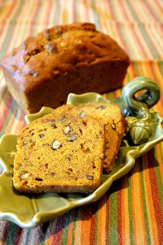 Pumpkin Bread, pancakes, truffles 009