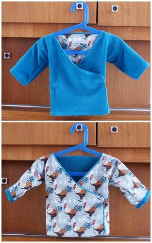Reversible kimono for Abel