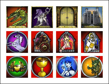 free Fantasy Fortune slot game symbols