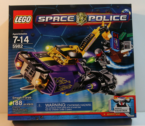 LEGO Space Police 5982 - Smash 'n' Grab - Box Front