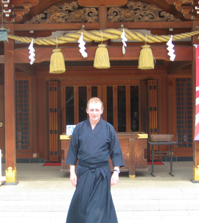 John at Tachikawa Shrine_2