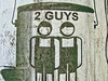 2 guys. (david takes photos) Tags: ad advertisement 2guys
