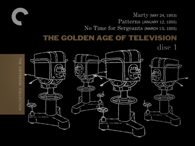 Criterion Confessions: THE GOLDEN AGE OF TELEVISION - #495