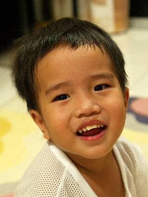 Julian smiling
