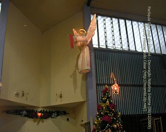Paróquia São José do Jaguaré. Decoração Natalina Interna (06/12/2009)