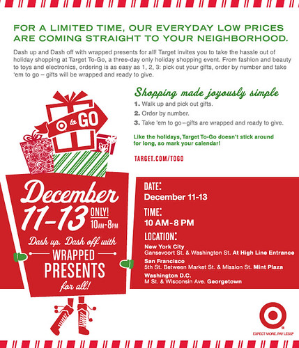 Target To-Go Flyer