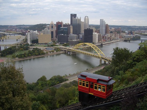 Pittsburgh From the Duquesne Incline