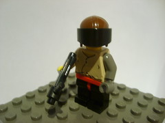 The Hunter (Alexander's Lego Gallery) Tags: tower cops guard police cop hunter base turret