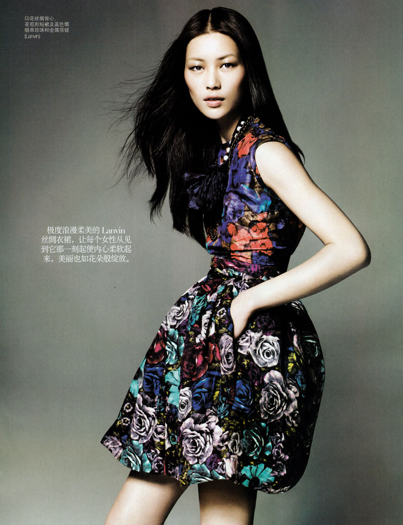 lui wen vogue china 2010