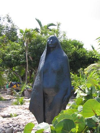 Sculpture at Yal Ku