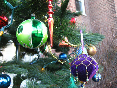 Happy Gaudy Ornaments