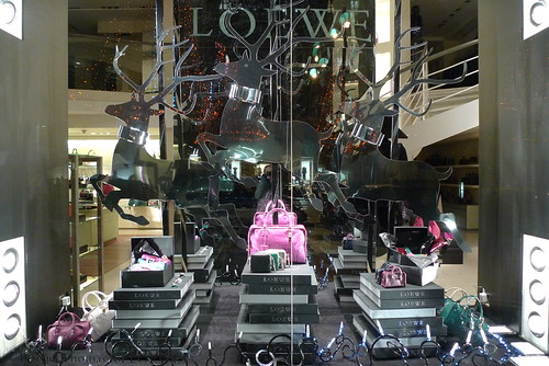 Vitrines Loewe - Paris décembre 2009