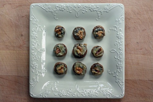 simple, yet elegant, stuffed mushrooms