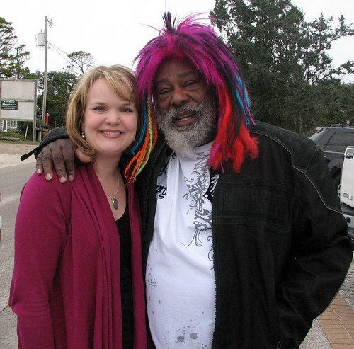 Hillary with George Clinton
