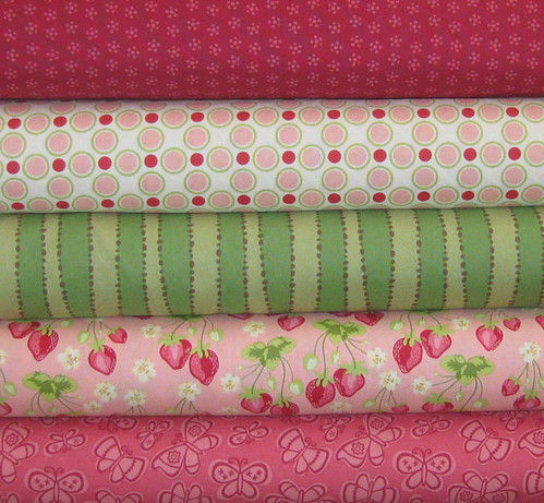 Sandi Henderson and Genevieve Gail Fabric Bundle, 5