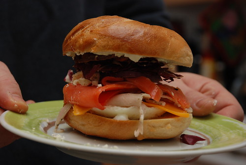 the bagel sandwich of deliciousness