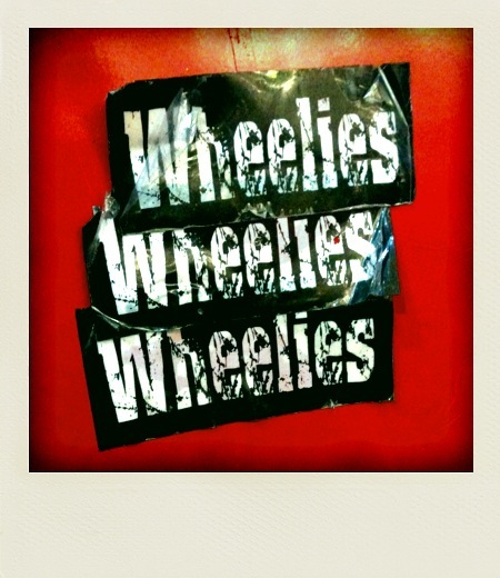 Wheelies - stickers