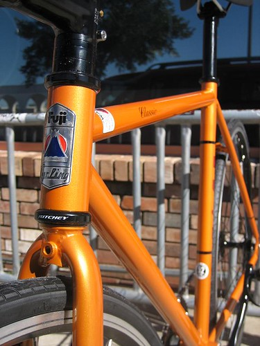 Fuji Classic Track 52 Orange 2