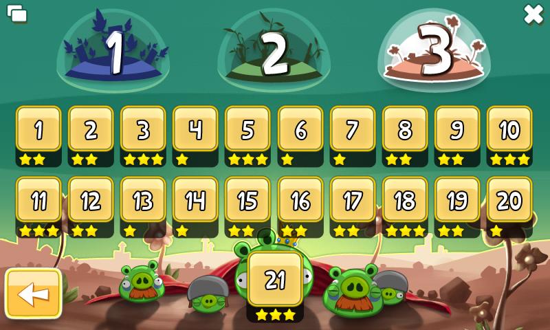 [Ovi Store] Angry Birds - экшн головоломка для Nokia N900 Maemo5 levelpack1