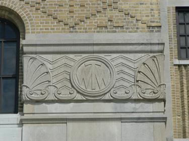 Art Deco Monogram Cake Topper